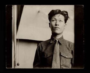 Late artist Yoo Young-kuk as a student in Japan in the late 1930s-early 40s / Courtesy of the Yoo Youngkuk Art Foundation