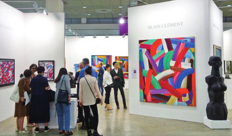 Paintings of Alain Clément at GALLERY BAUDOIN LEBON.