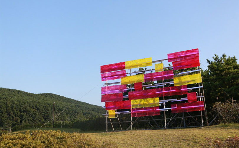 Paul Schwer, Billboard Painting Busan, 2017, Commission for the Sea Art Festival 2017