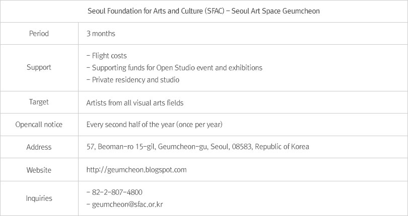 Seoul Art Space Geumcheon