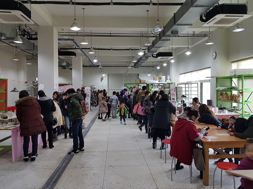 A View of Open Studio at the Ceramic Creative Center ⓒClayarch Gimhae Museum