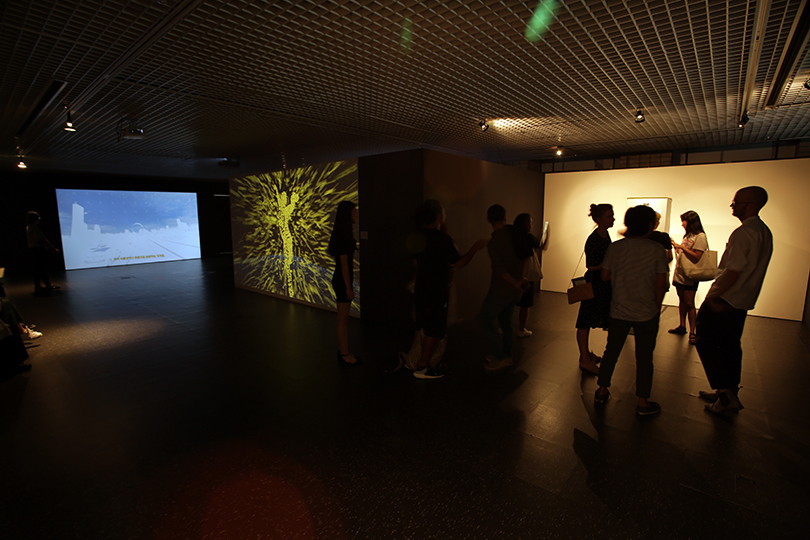 An exhibition view of《Nabi Artist Residency 2018》, 2018. ⓒNabi Artist Residency
