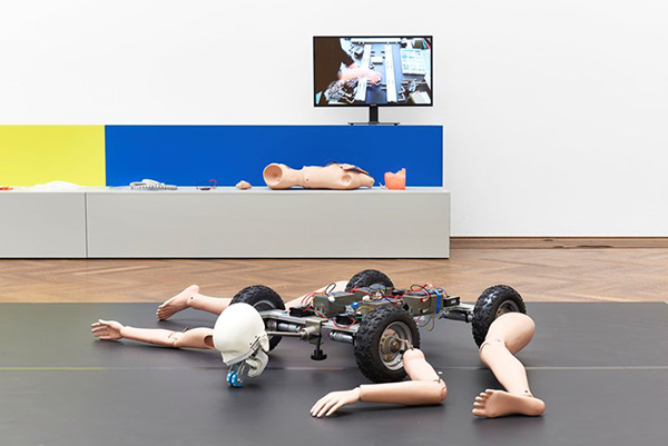 Exhibition view: Geumhyung Jeong, Homemade RC Toy, Kunsthalle Basel (3 May–11 August 2019). Photo: Philipp Hänger / Kunsthalle Basel.