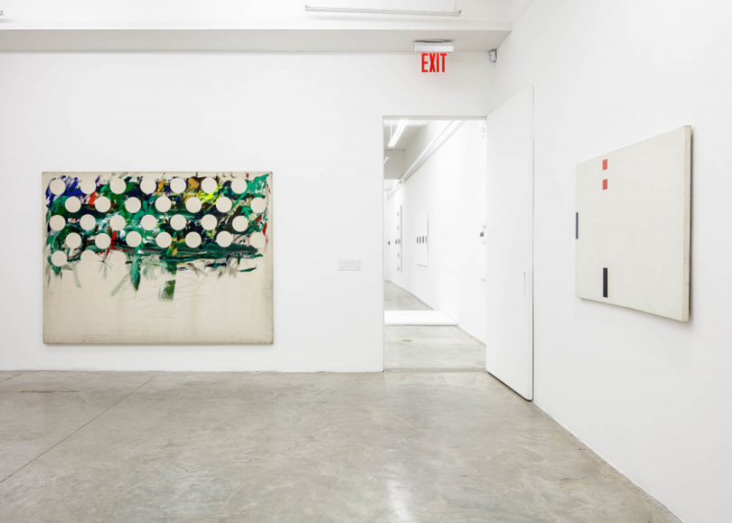 Installation View KIM YONG-IK, Speaking of Latter Genesis at TIna Kim Gallery, New York.