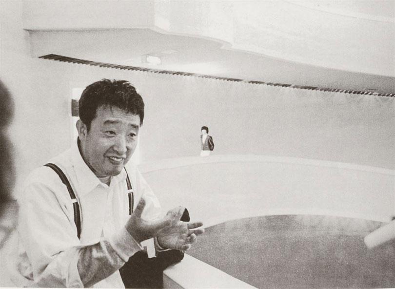 Korean media artist Paik Nam-june conceives of the idea for