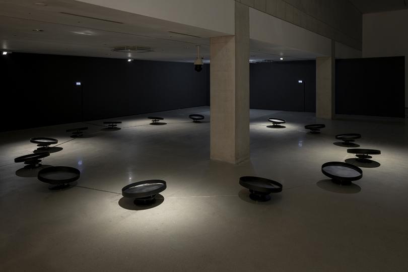 "Shin Seung-back and Kim Yong-hun's installation ""Mind"" at the MMCA's main branch in Samcheong-dong (MMCA)"