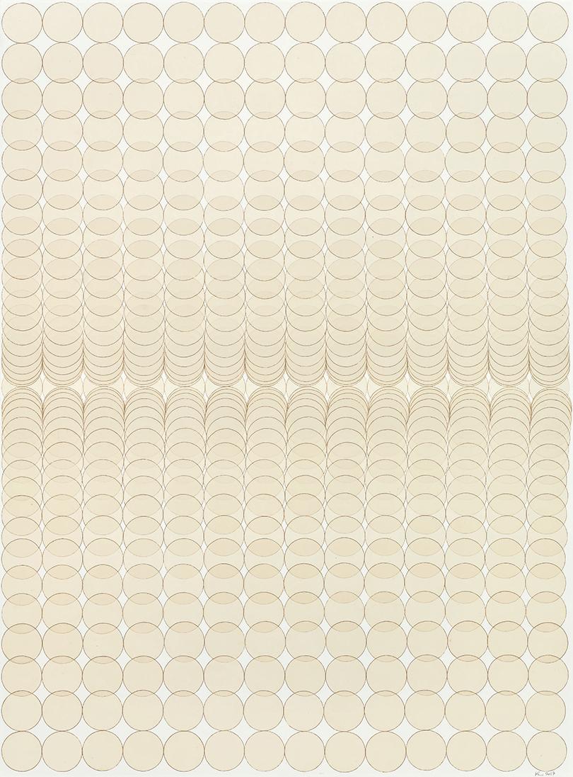 〈Insight〉, 2017. Mixed media on Hanji, 193 × 142.5 cm