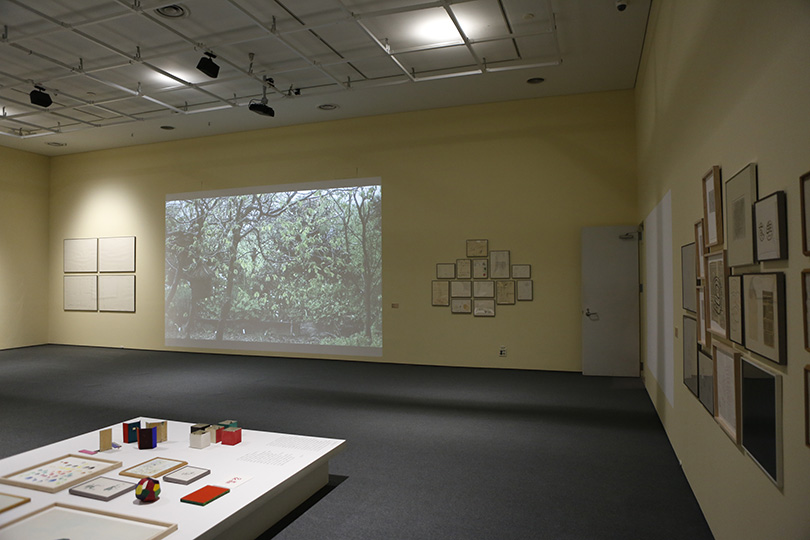 Exhibition Panorama of 《Soungui Kim: Lazy Clouds》.