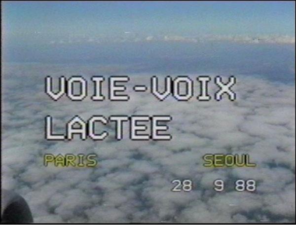 Kim Soun-Gui, 〈Voie-Voix Lactée〉, 1988. video, 60 minutes, edition 1 of 3ⓒKIM Soun-Gui 2018