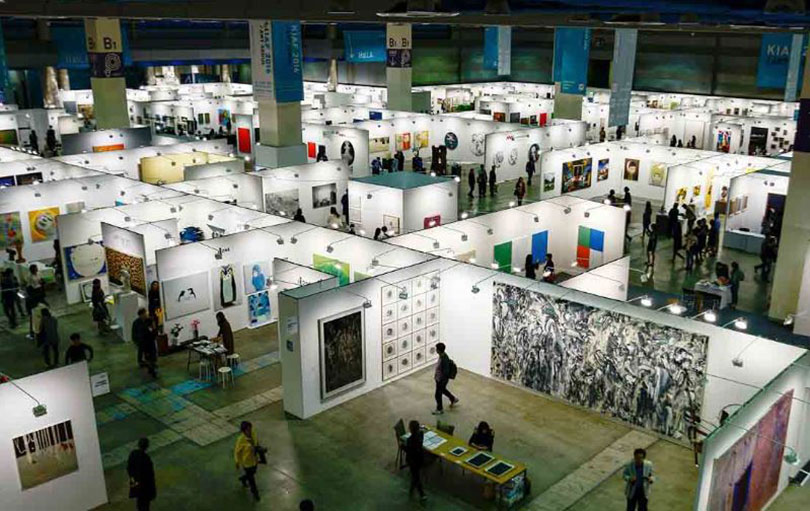 KIAF Fair Booths in COEX ⓒKIAF