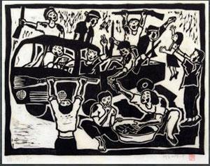 Hong Sungdam, 〈May-25: The world of Unity-1, 1984〉, Collection: Fukuoka Asian Art Museum