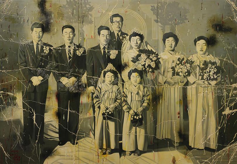안창홍, 〈아리랑 2012'1〉, 2012. 249.1 x 361.6 cm. Ⓒ작가 Ⓒ대구미술관