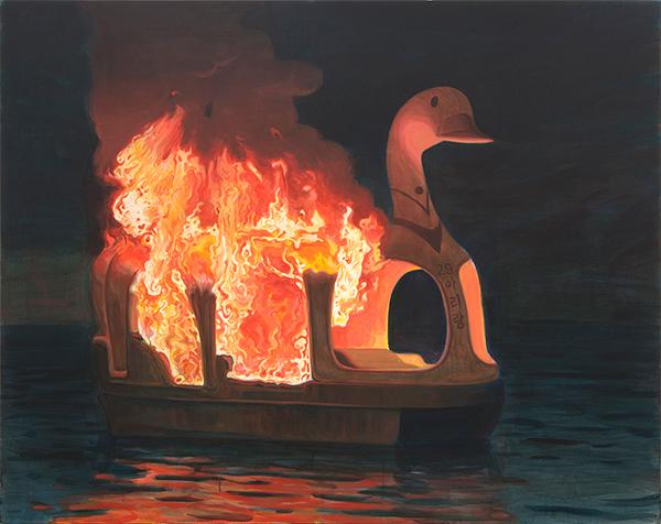이우성, 〈아무도 내 슬픔에 귀 기울이지 않는다〉, 2011. 181.8 x 227.3 cm. Ⓒ작가 Ⓒ대구미술관