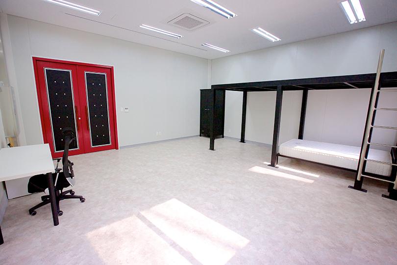 테미예술창작센터 스튜디오 전경 ⓒ테미예술창작센터