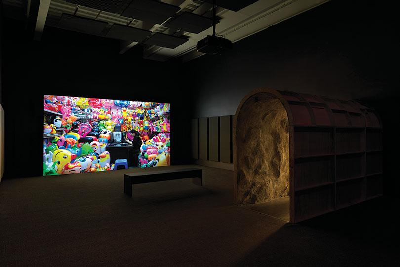 Mika Rottenberg: Easypieces 2019 Exhibition view: New Museum, New York Photo: Dario Lasagni.