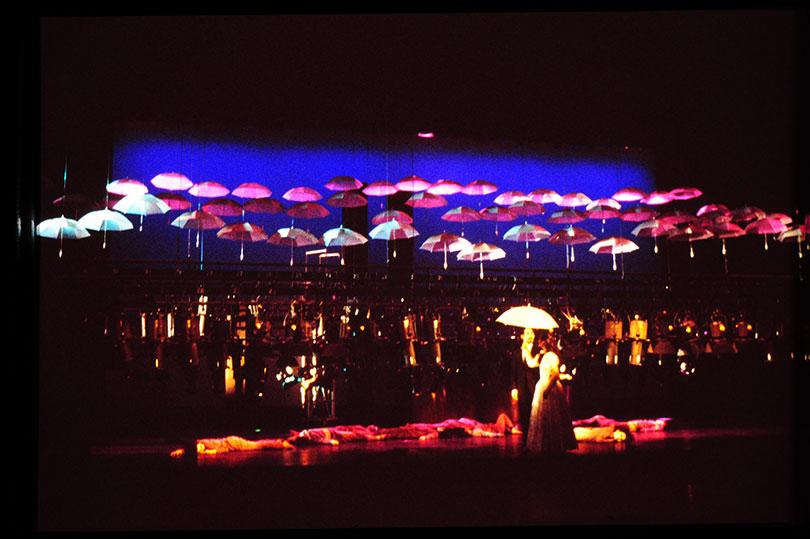 김구림, 살풀이 8(Exorcism 8), 1988. 호암아트홀.