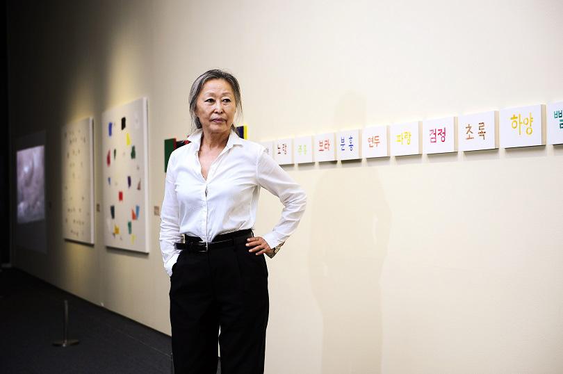 김순기 작가 ⓒ김흥규.