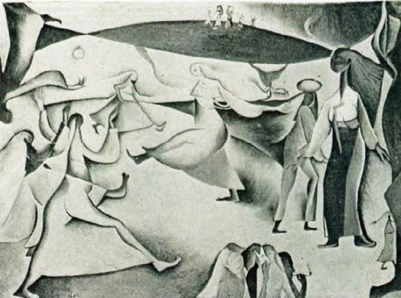 〈무리〉 1954년 제39회 〈이과전〉 출품작. 사진제공 월간미술